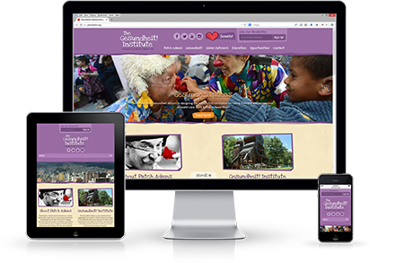 Responsive Web Design for Patch Adams