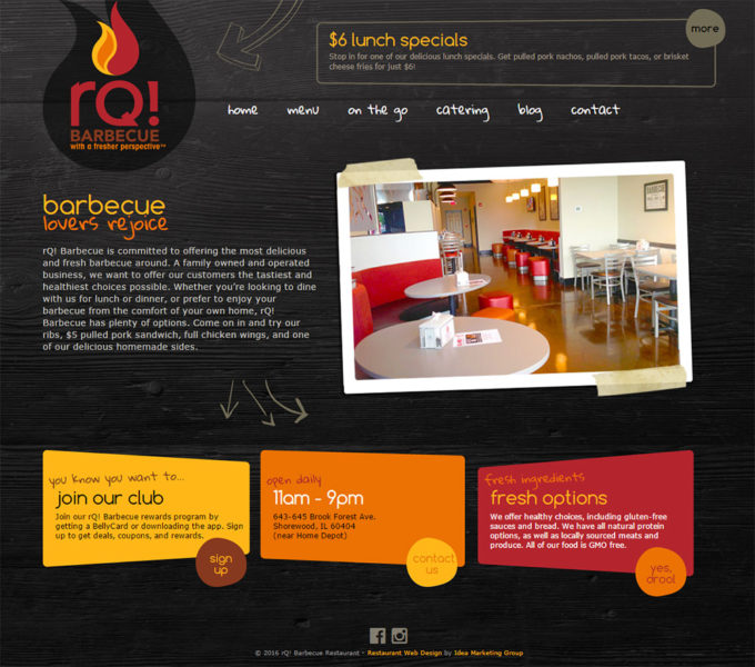 rQ! Barbecue Homepage