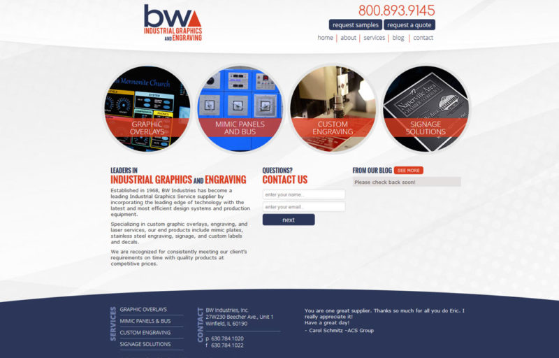 BW Industrial Graphics and Engraving 1