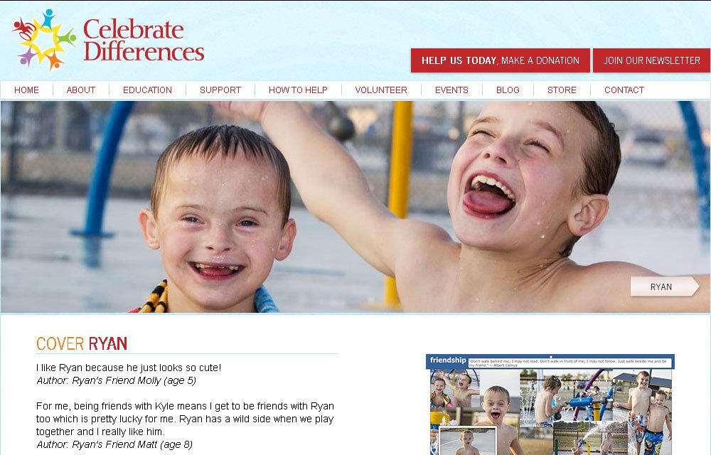 Celebrate Differences Website