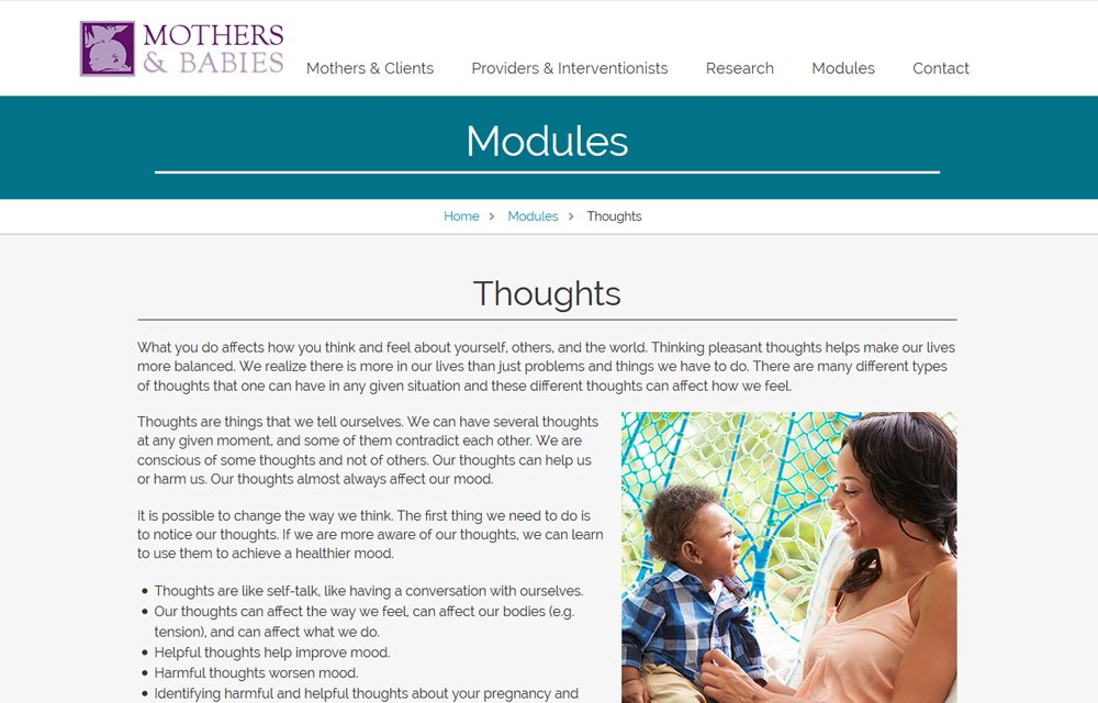 Northwestern Mothers and Babies Program 4