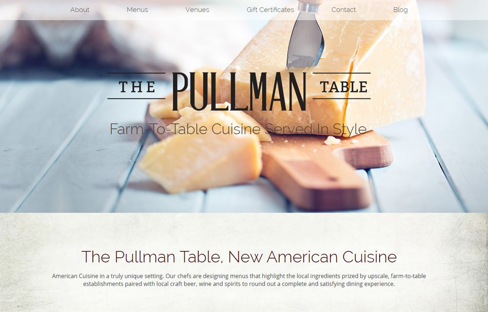 The Pullman Table 1