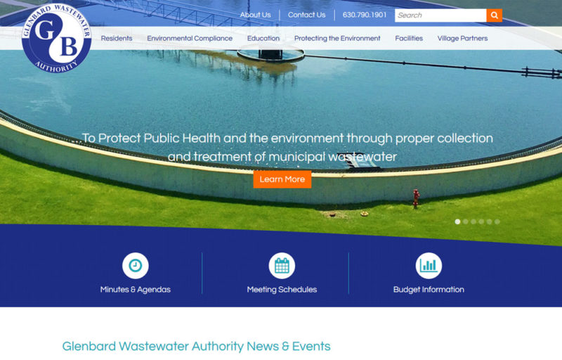 idea marketing group launches new glenbard wastewater website