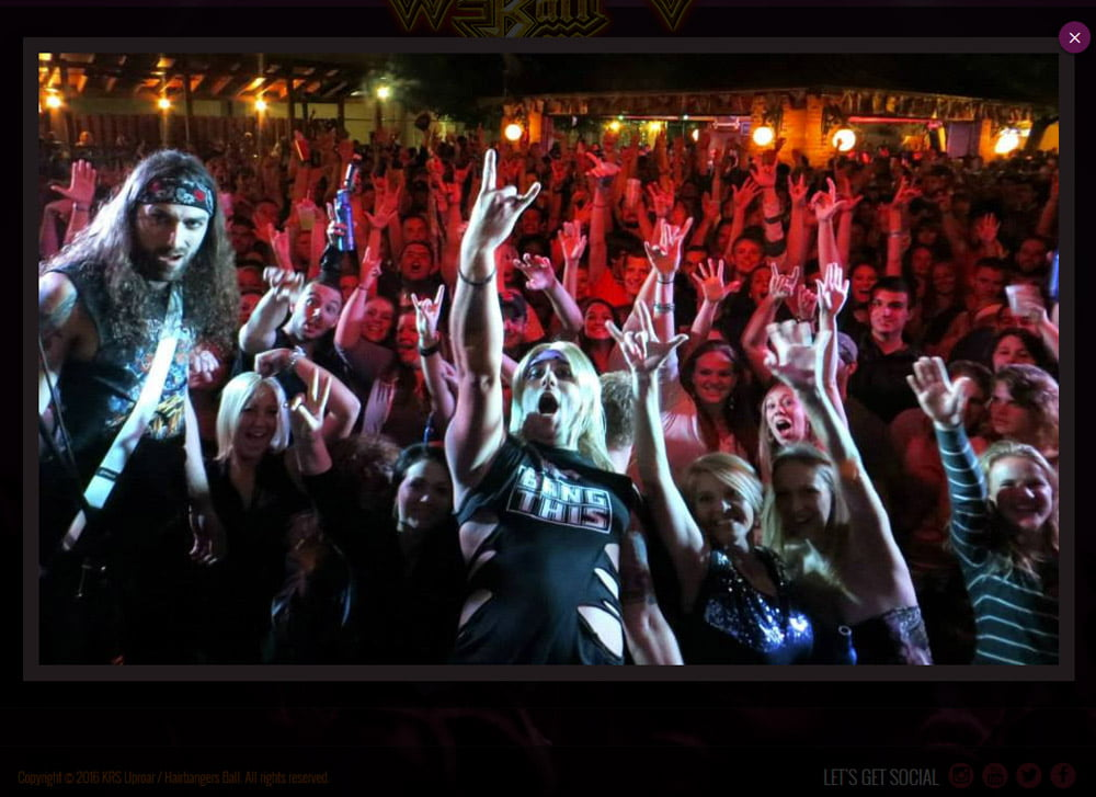 Hairbanger's Ball Live Crowd