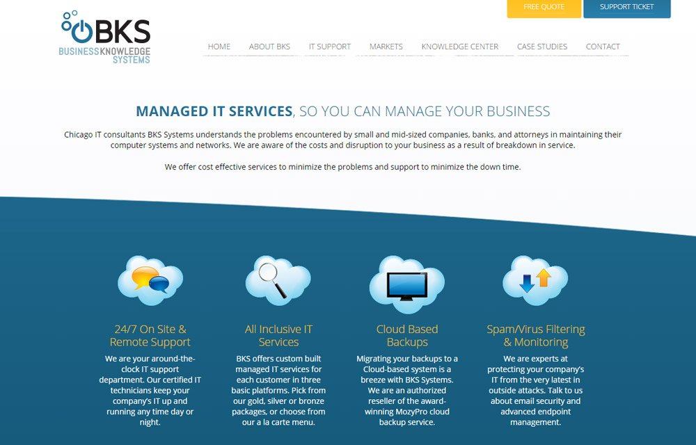 bks systems new website