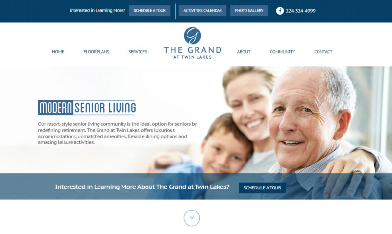 Grand at Twin Lakes - Homepage