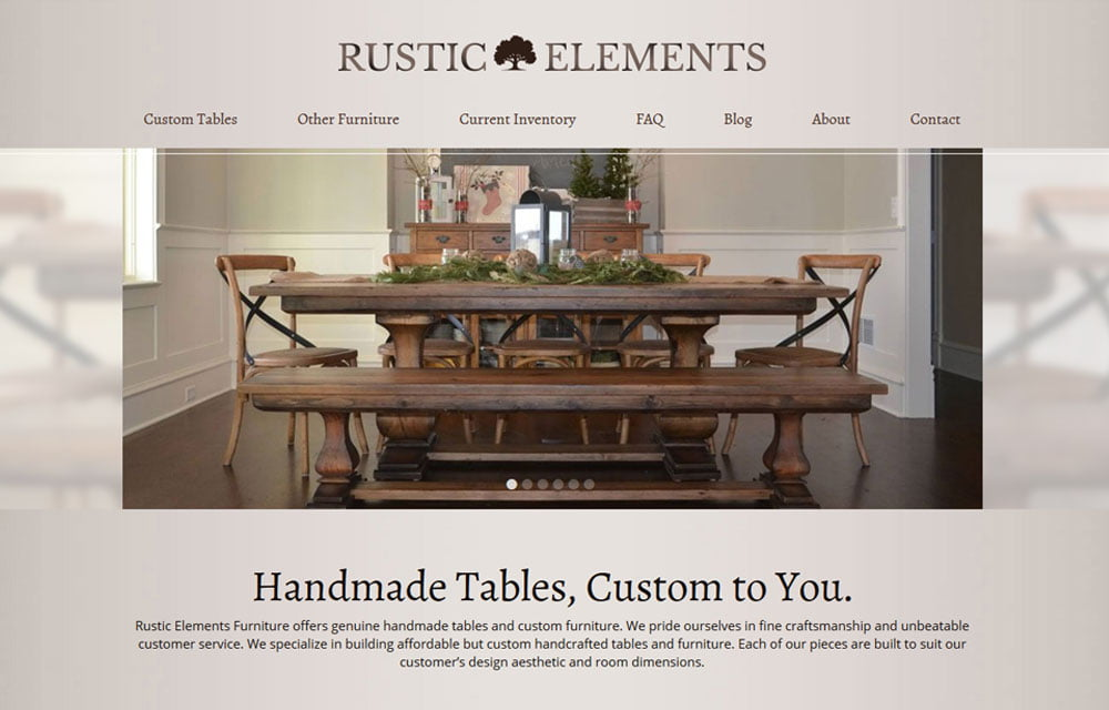 Marvelous Rustic Elements Furniture ...