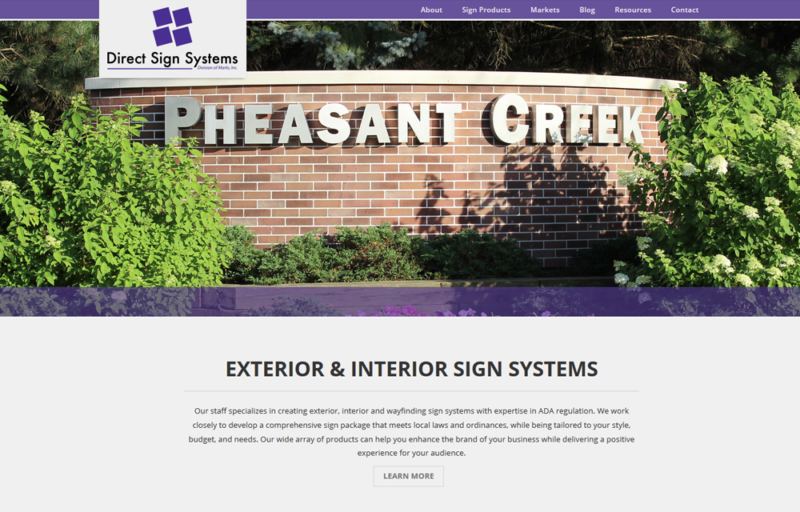 direct sign systems website