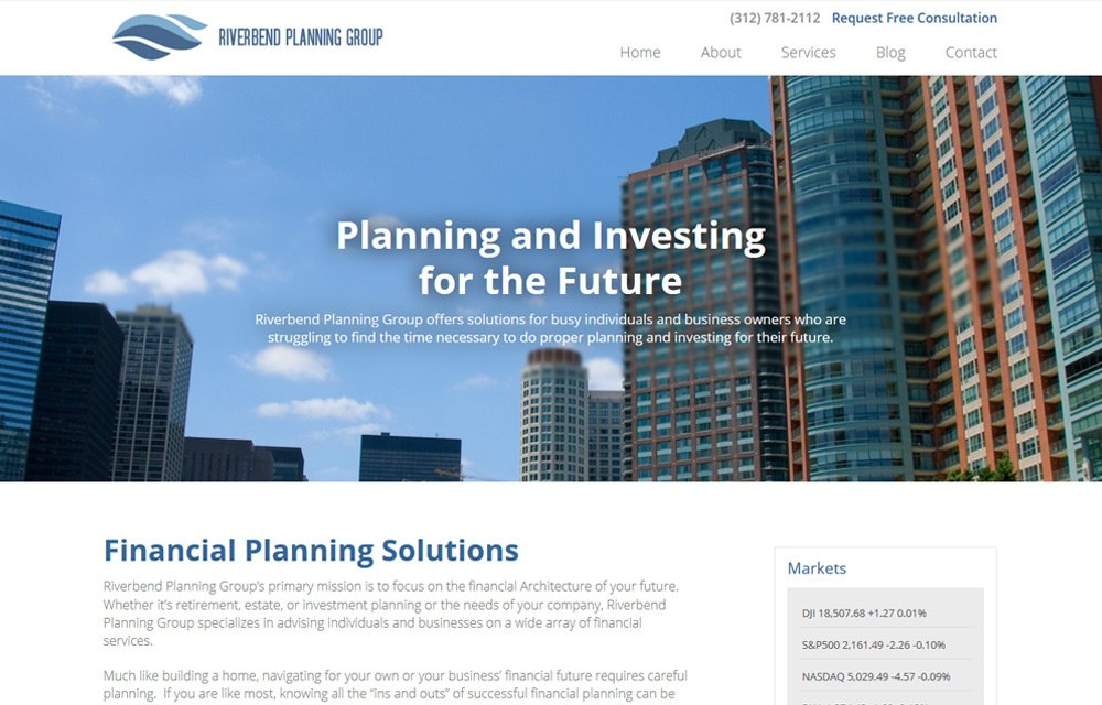 Riverbend Planning Group Website