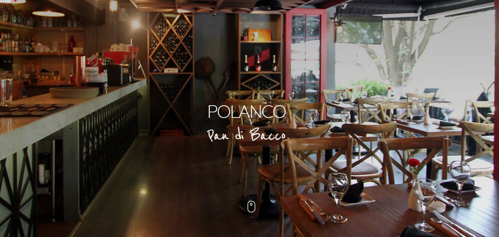 Pan di Bacco Website