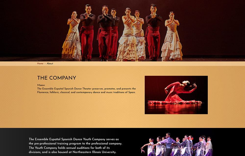Ensemble Español Website