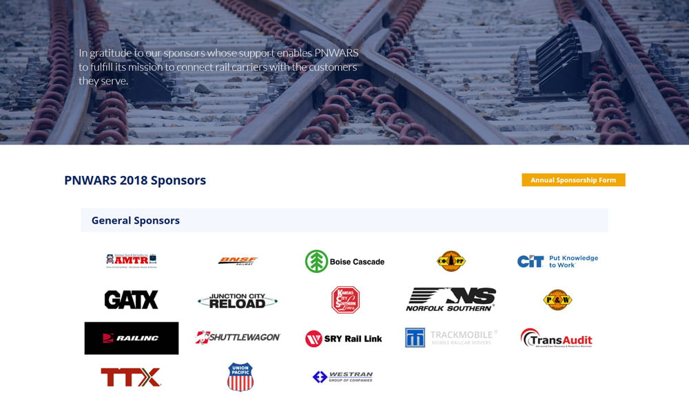 Pacific Northwest Association of Rail Shippers Website