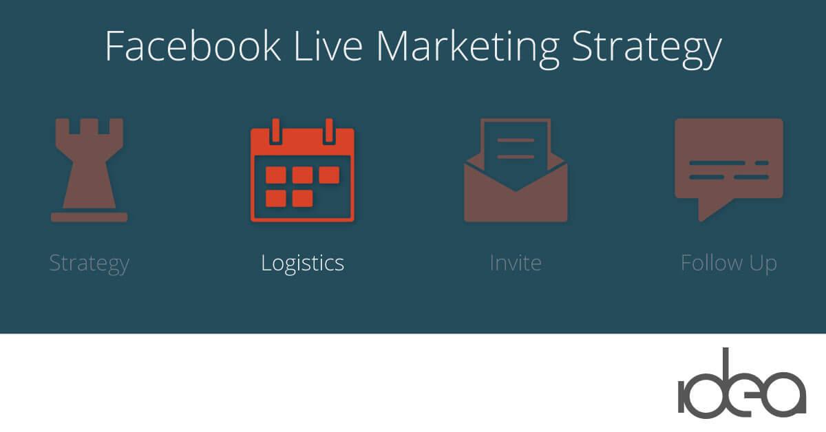 facebook live logistics