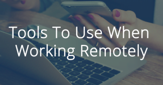 work remotely tools