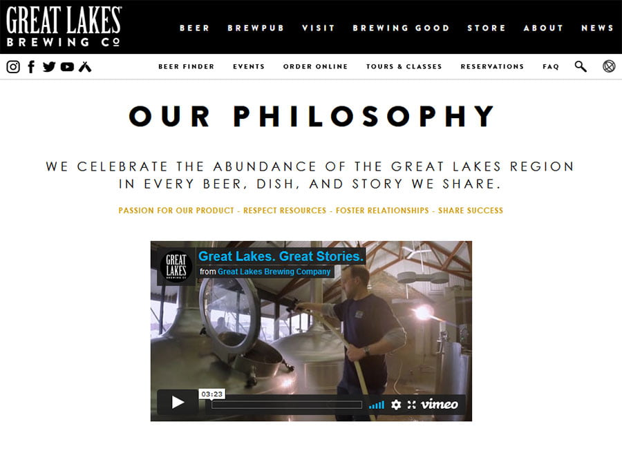 great lakes brewing culture